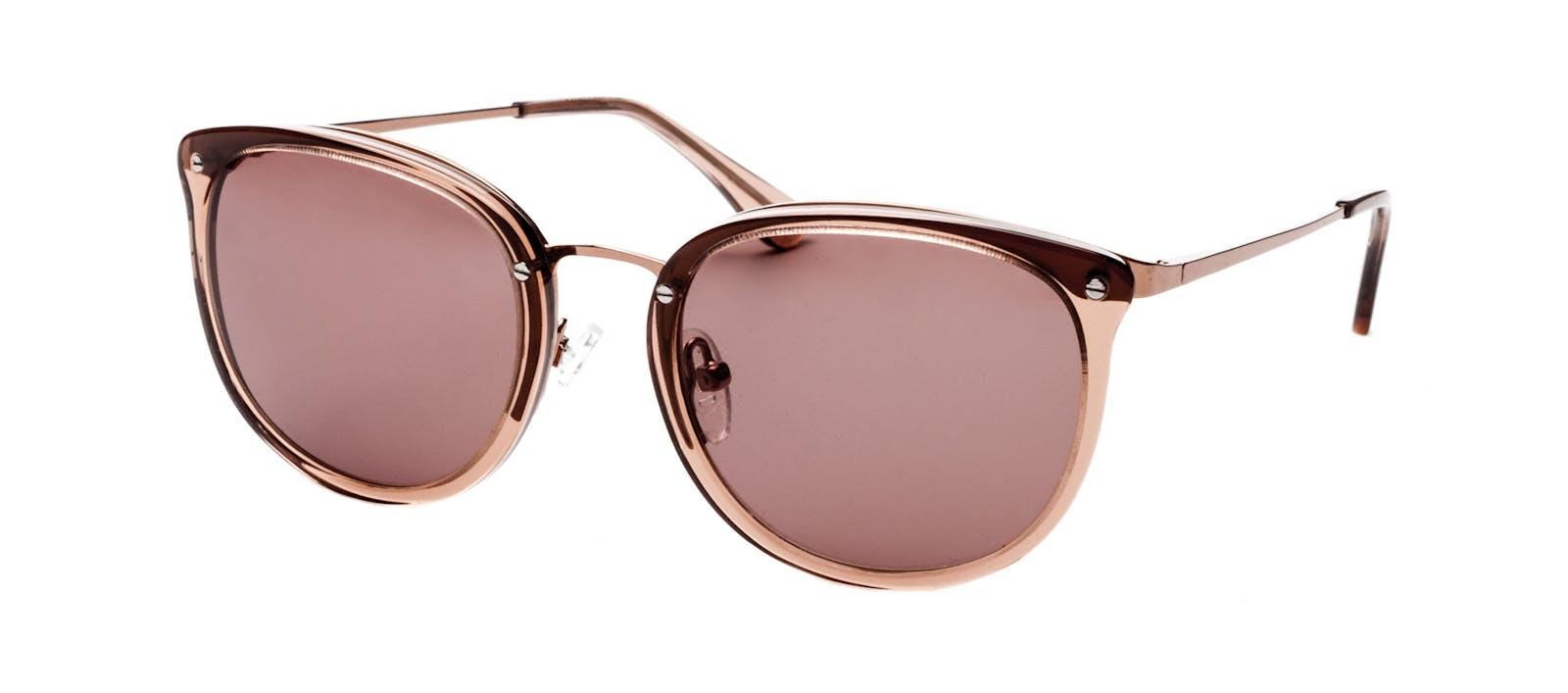 bd679e02fc Affordable Fashion Glasses Square Round Sunglasses Women Amaze Rose Tilt