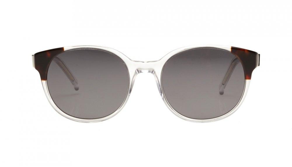 Affordable Fashion Glasses Round Sunglasses Women Bis Diamond Tortoise
