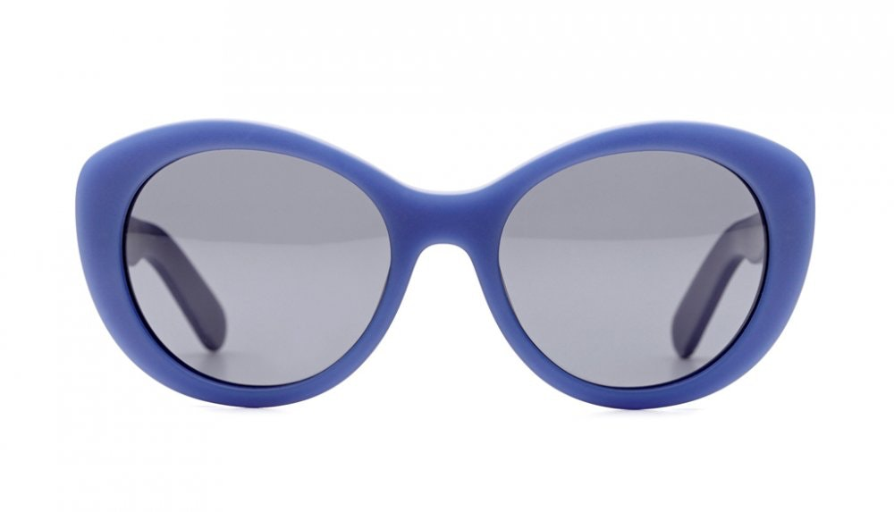 Affordable Fashion Glasses Round Sunglasses Women South Beach Frosted Urchin Front