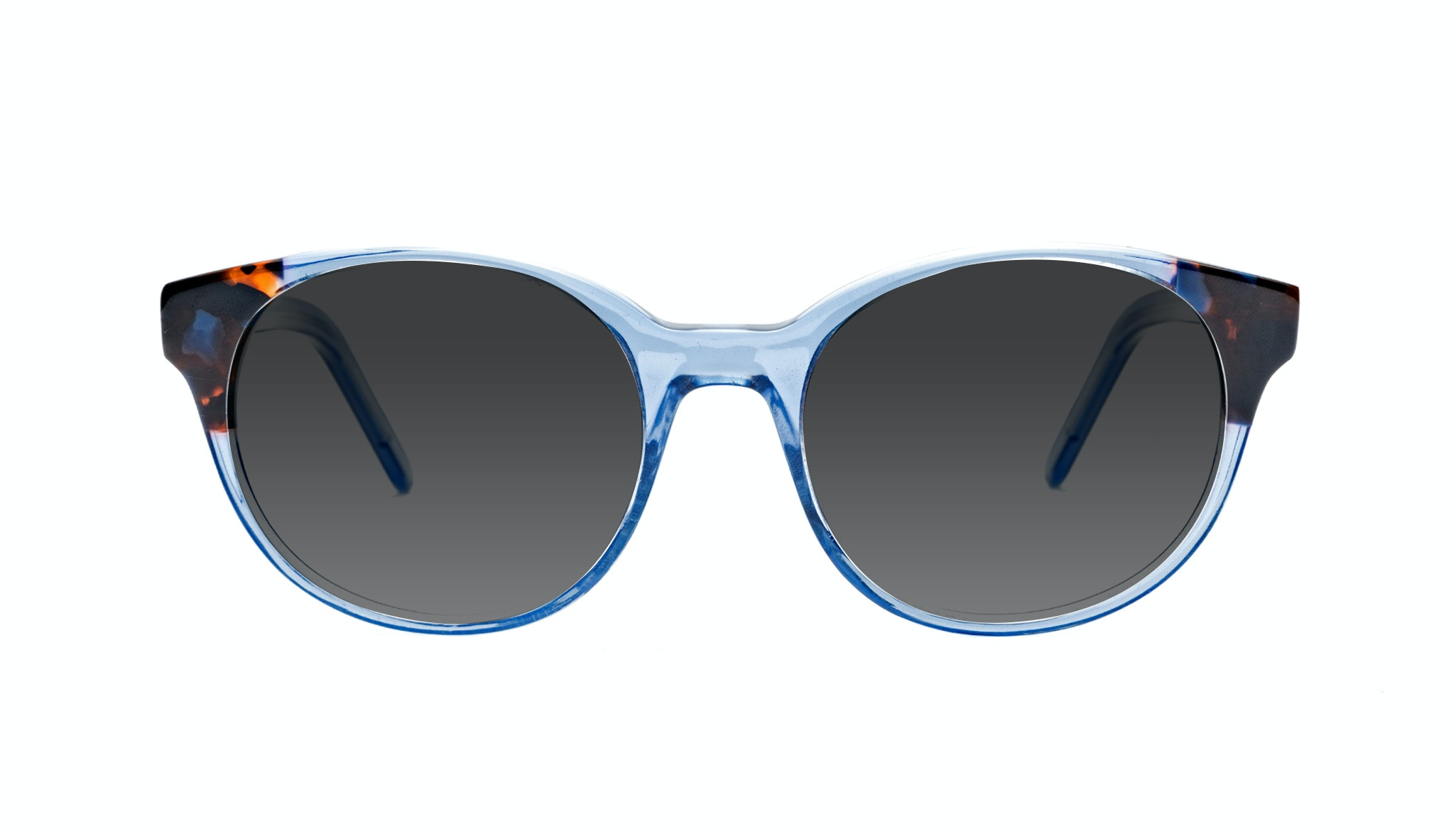 Affordable Fashion Glasses Round Sunglasses Women Bis Blue Wonder