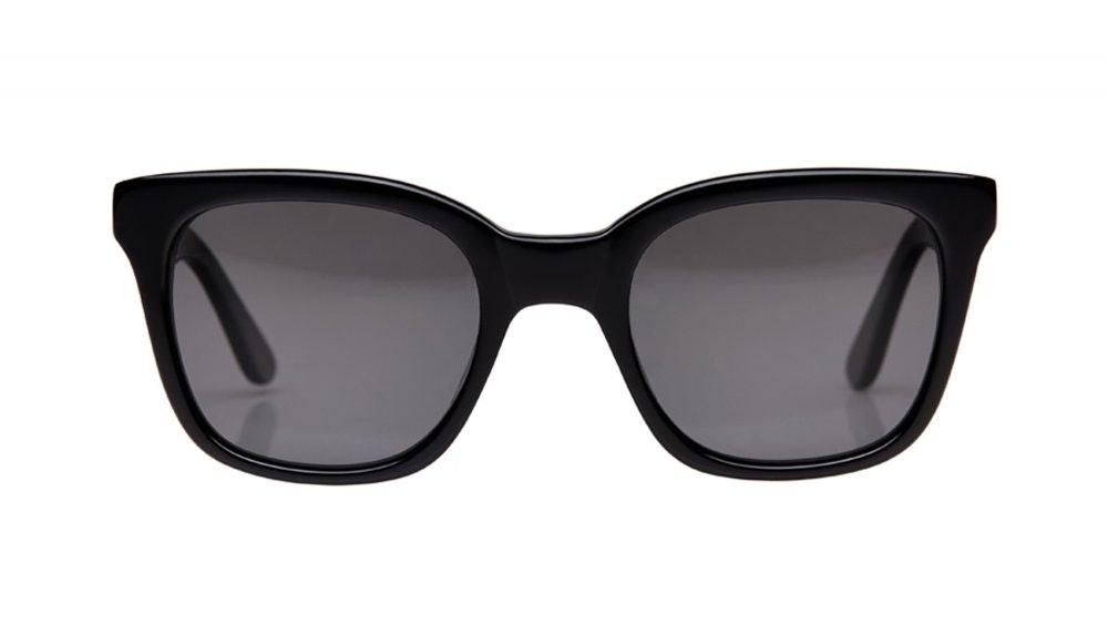 Affordable Fashion Glasses Square Sunglasses Women Jack & Norma Noir