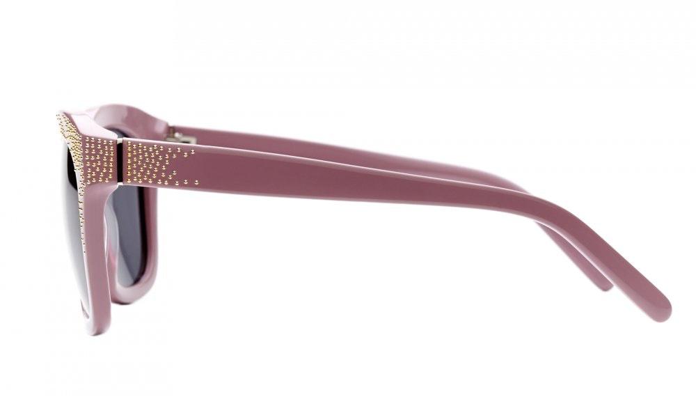 Affordable Fashion Glasses Square Sunglasses Women Ibiza Angelfish Pink Profil