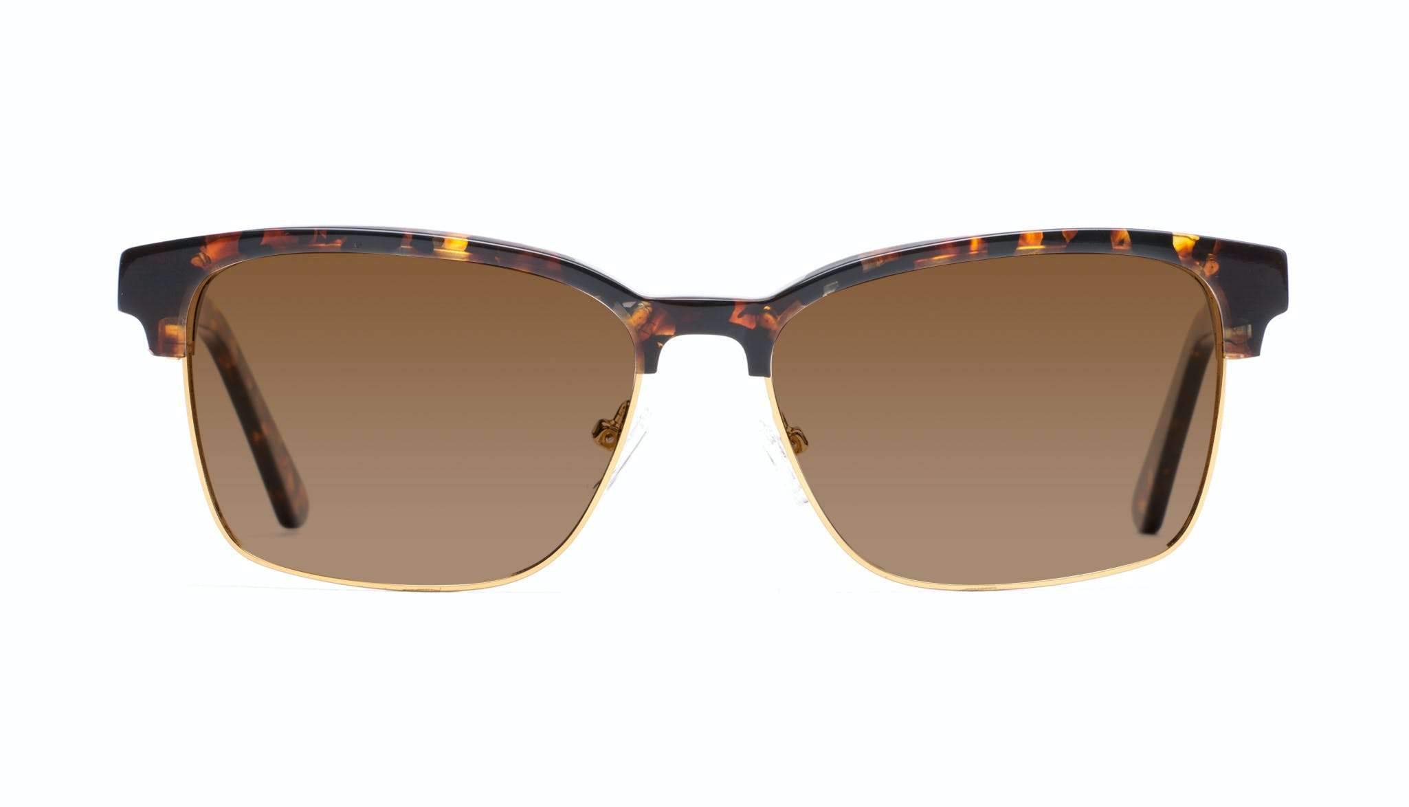 Affordable Fashion Glasses Rectangle Square Sunglasses Men Gallery Mahogany Front
