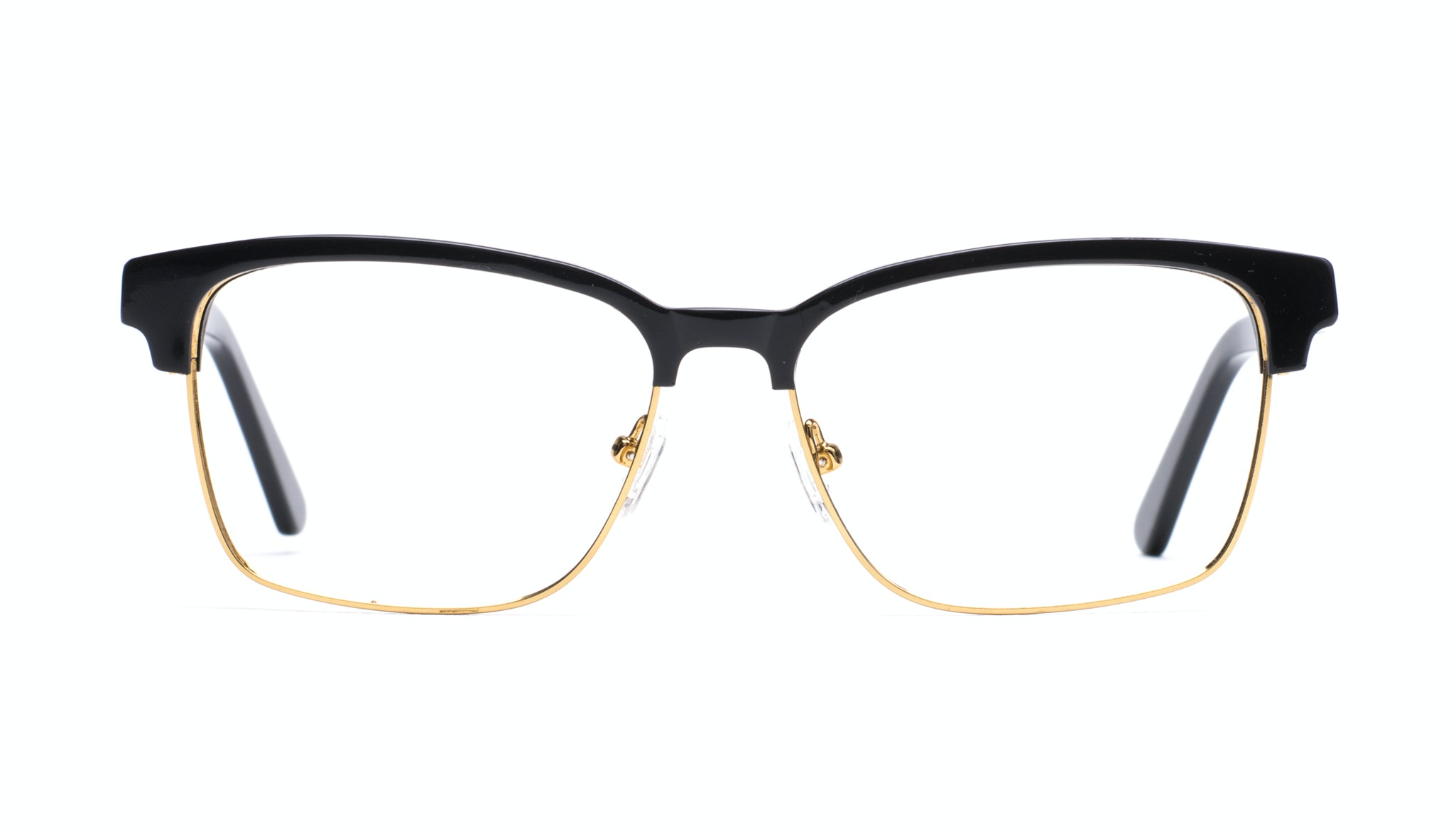 Affordable Fashion Glasses Rectangle Eyeglasses Men Gallery Black
