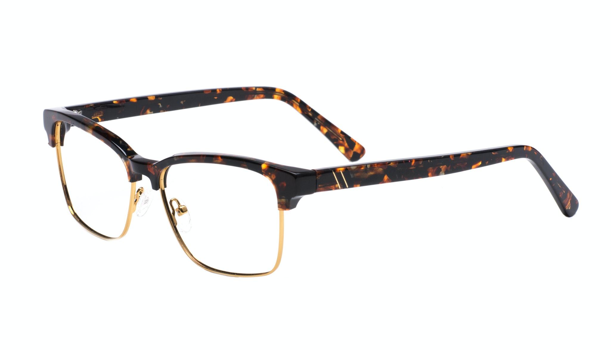 Affordable Fashion Glasses Rectangle Square Eyeglasses Men Gallery Mahogany Tilt
