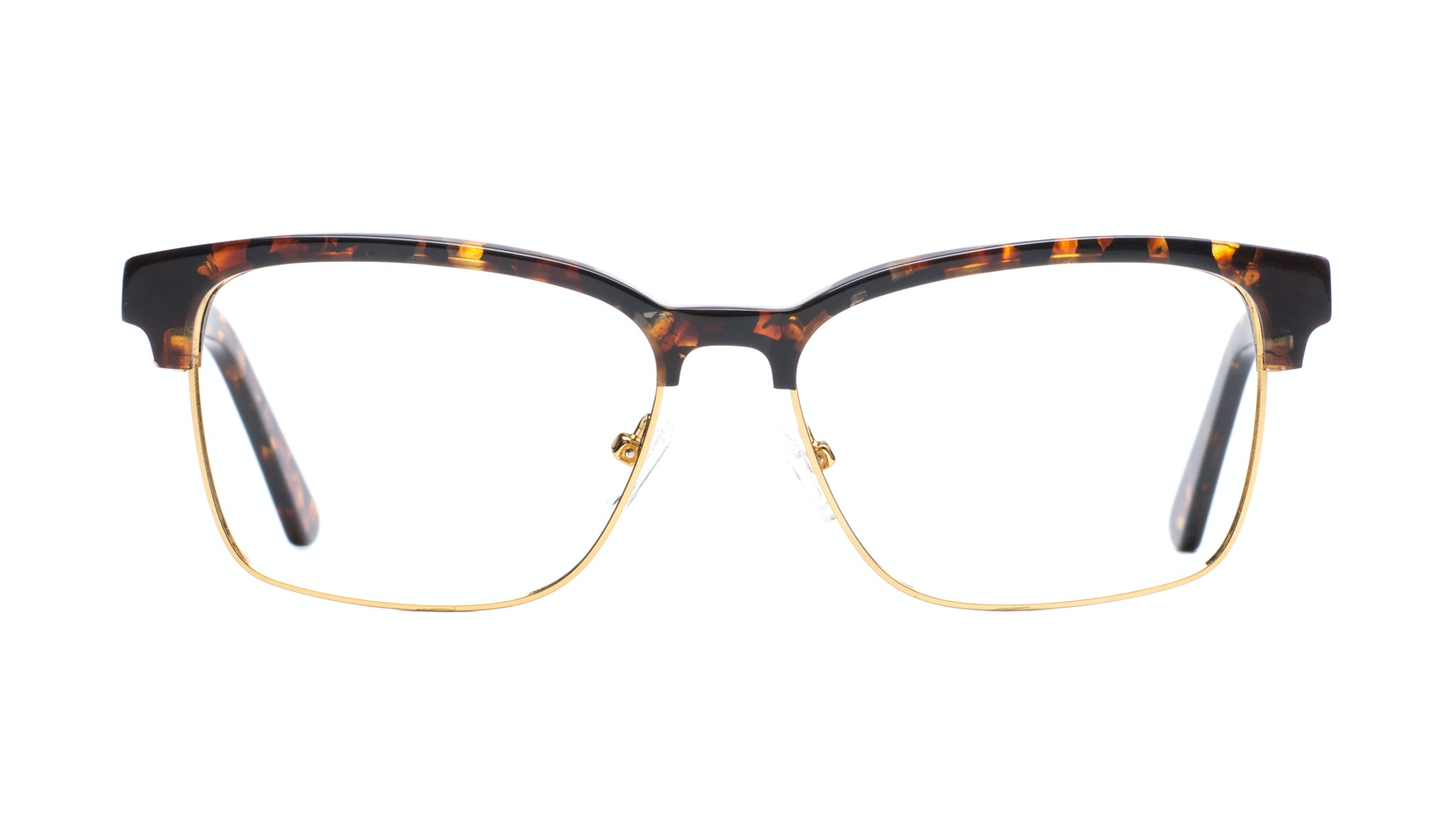 Affordable Fashion Glasses Rectangle Square Eyeglasses Men Gallery Mahogany Front