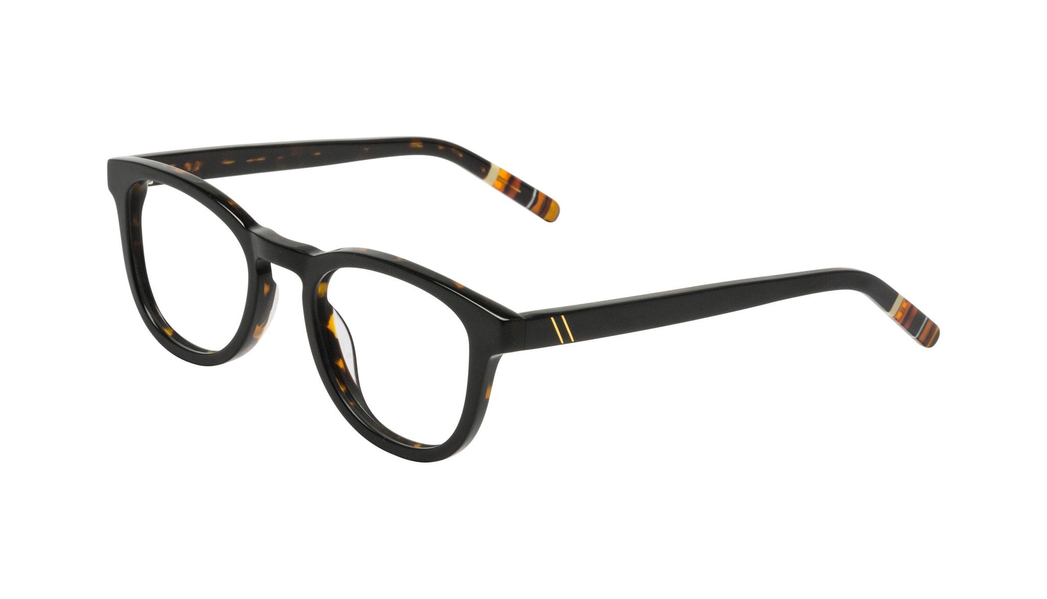 Affordable Fashion Glasses Round Eyeglasses Men Goal Black Tort Tilt