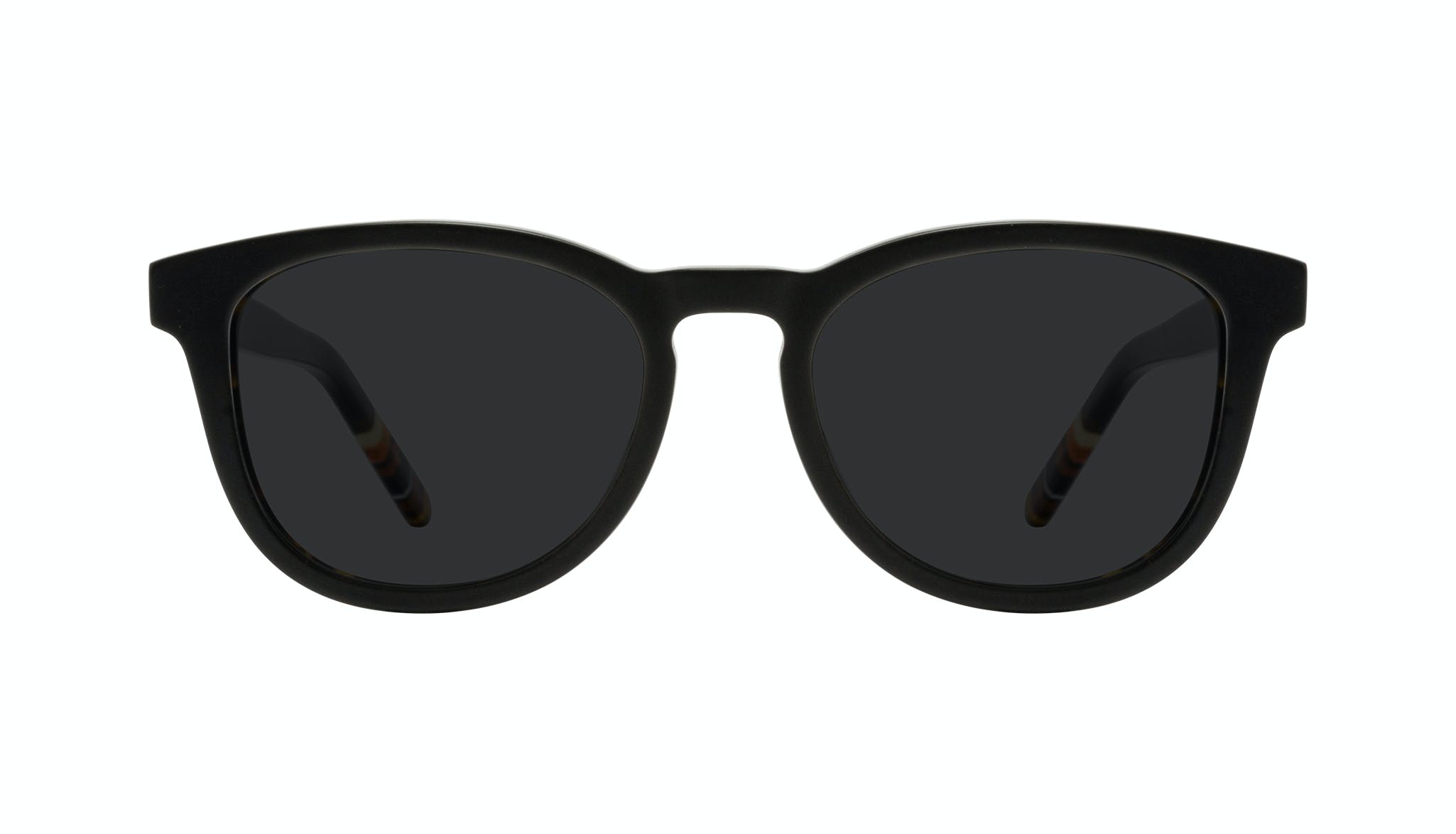 Affordable Fashion Glasses Round Sunglasses Men Goal Black Tort