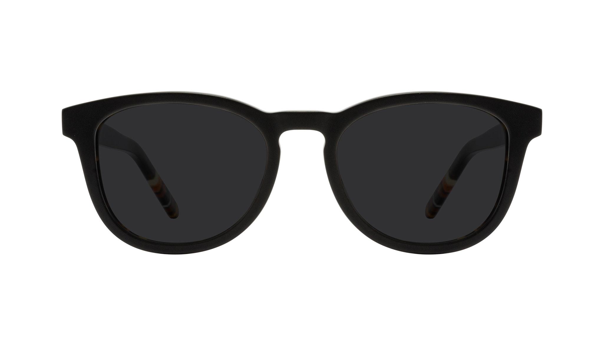 Affordable Fashion Glasses Round Sunglasses Men Goal Black Tort