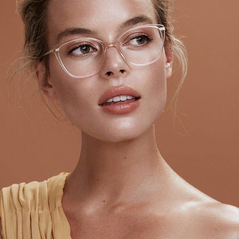 Women S Eyeglasses Illusion In Rose Bonlook