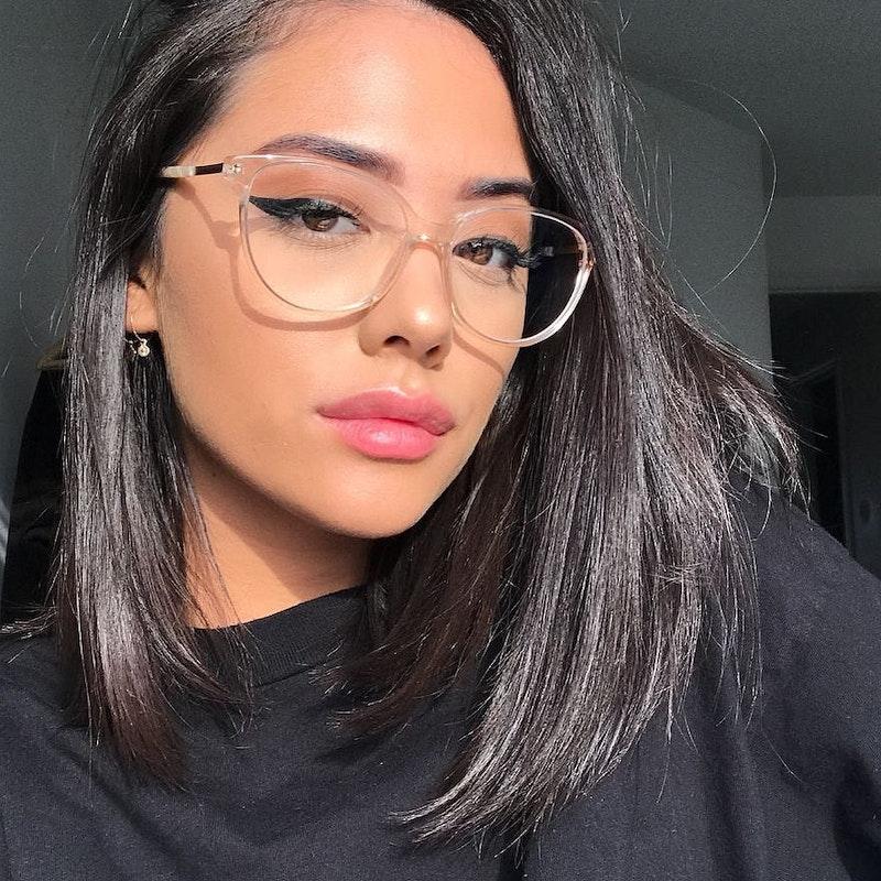 Women S Eyeglasses Imagine Ii In Golden Marble Bonlook