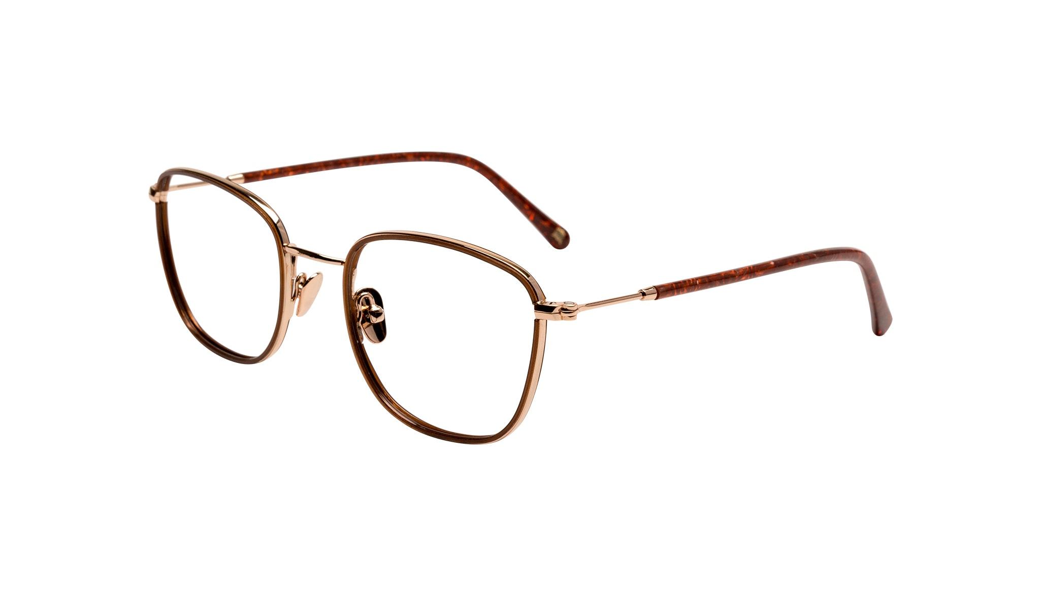 Affordable Fashion Glasses Rectangle Eyeglasses Women Lawrence Santal Tilt