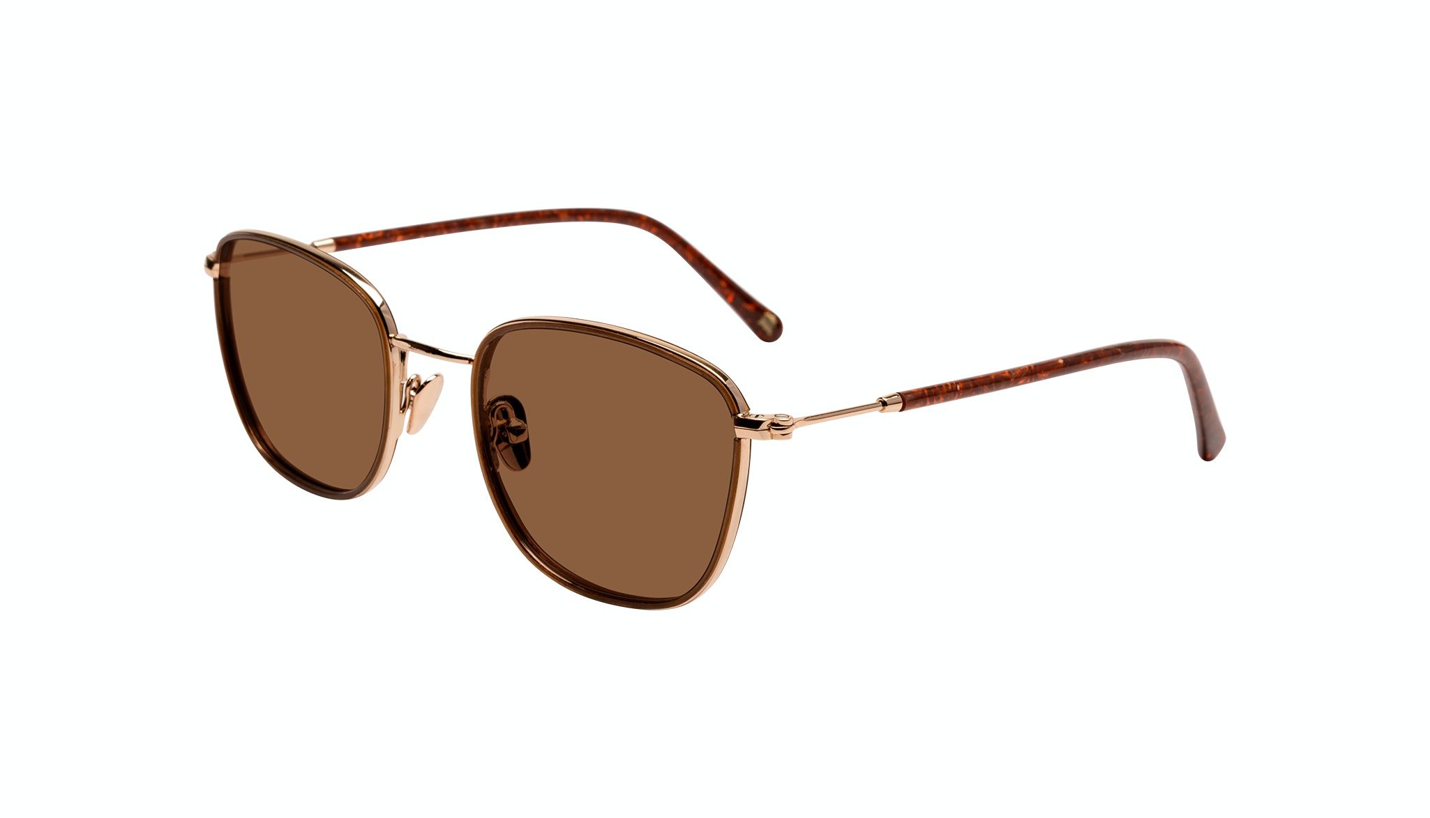 Affordable Fashion Glasses Rectangle Sunglasses Women Lawrence Santal Tilt