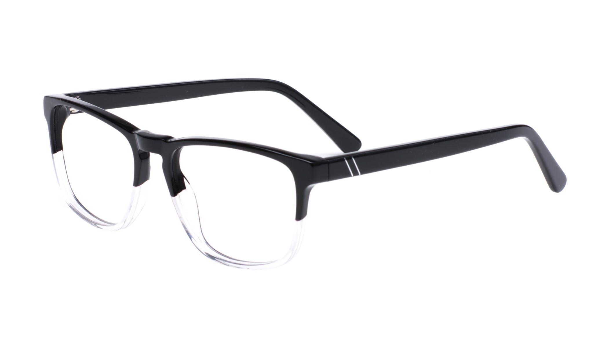 Affordable Fashion Glasses Rectangle Eyeglasses Men Loft Black Diamond Tilt