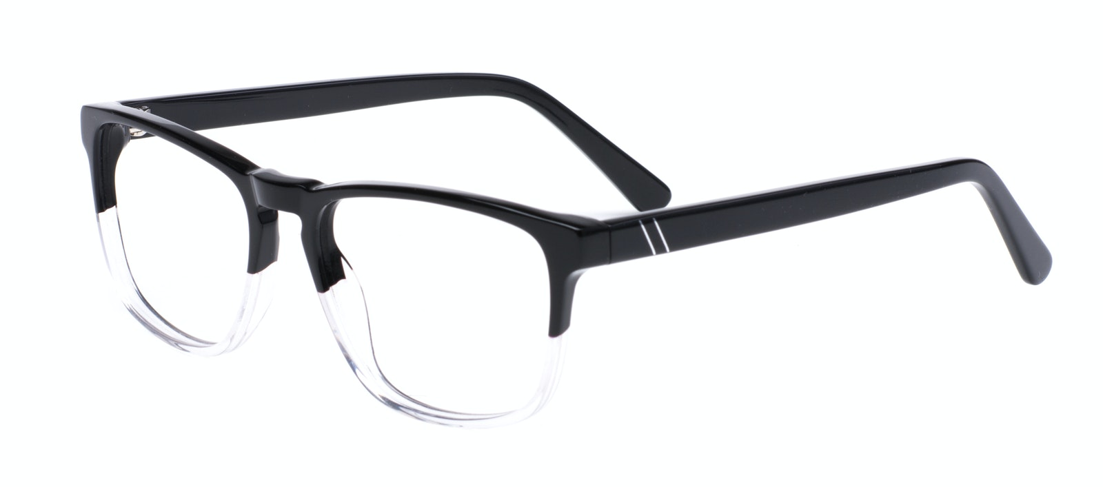 Affordable Fashion Glasses Rectangle Eyeglasses Men Loft Black Diamond Tilt