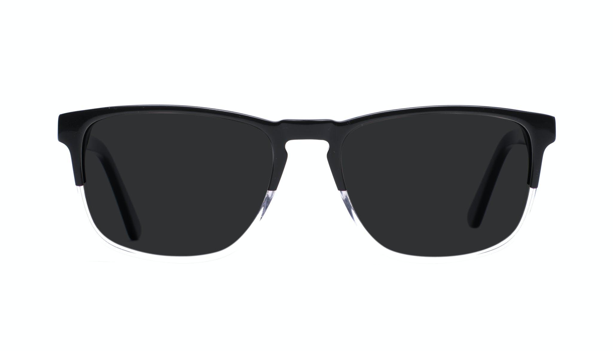 Lunettes tendance Rectangle Lunettes de soleil Hommes Loft Black Diamond Face