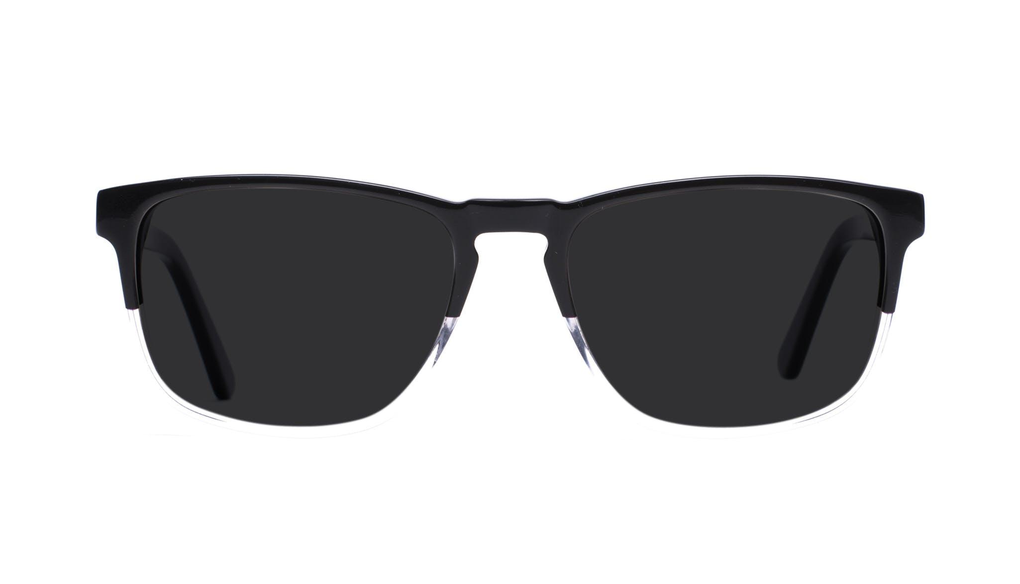 Affordable Fashion Glasses Rectangle Sunglasses Men Loft Black Diamond Front