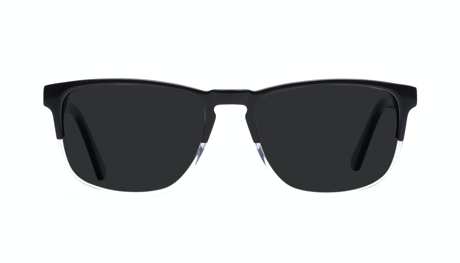 Lunettes tendance Rectangle Lunettes de soleil Hommes Loft Black Diamond