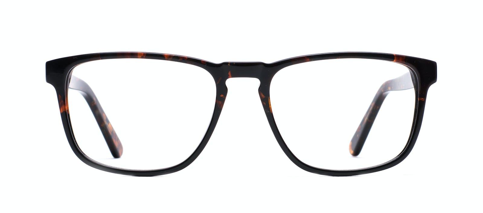5708232463a Affordable Fashion Glasses Rectangle Eyeglasses Men Loft Mahogany Black  Front