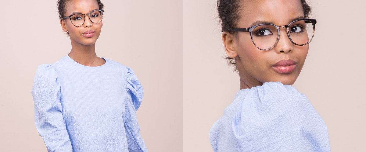 Affordable Fashion Glasses Round Eyeglasses Women Brilliant Dark Tortoise