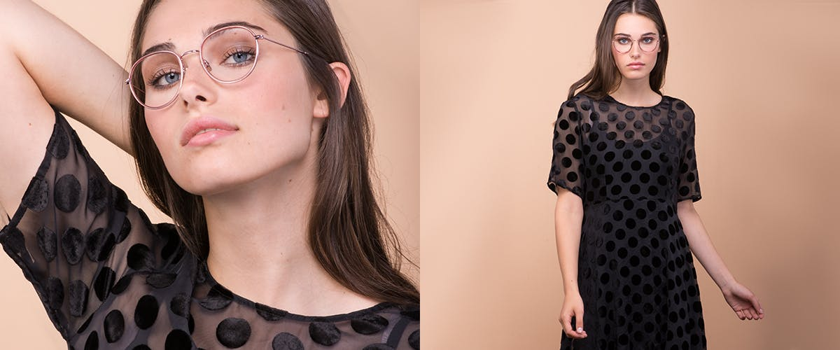 Affordable Fashion Glasses Aviator Round Sunglasses Women Subrosa Romance