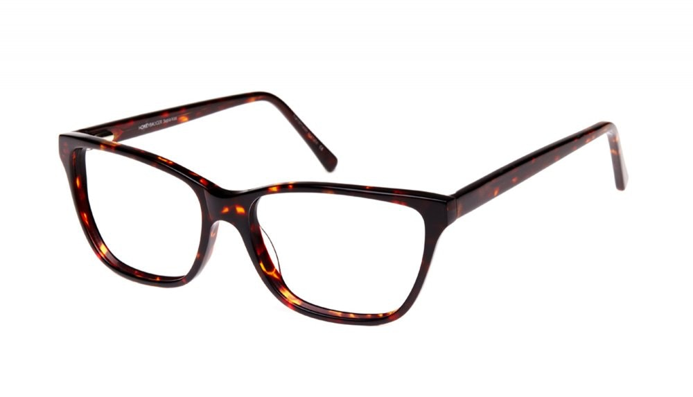 Affordable Fashion Glasses Cat Eye Eyeglasses Women Honeybadger Chocolate Tortoise Tilt