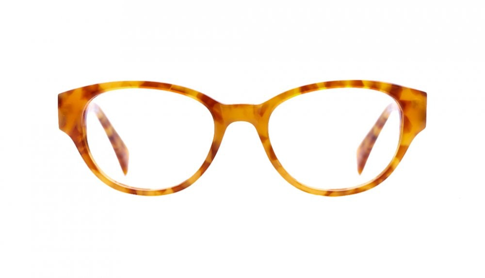 Affordable Fashion Glasses Round Eyeglasses Women Maggie Havana Front