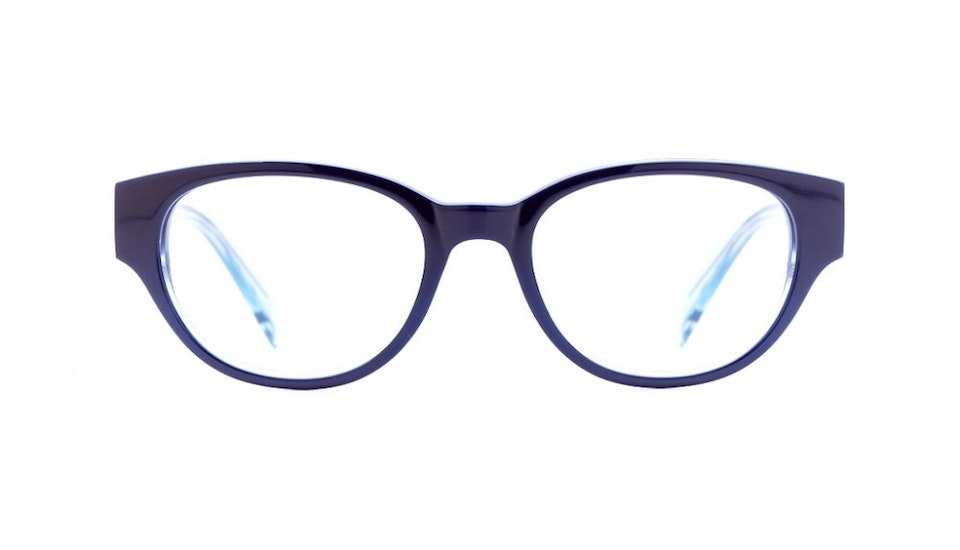 Affordable Fashion Glasses Round Eyeglasses Women Maggie Imperial Blue Front
