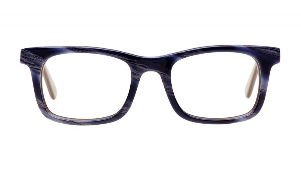 Affordable Fashion Glasses Square Eyeglasses Men Women Belgo Lazuli Front