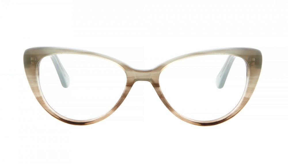 Affordable Fashion Glasses Round Eyeglasses Women Coco Morning Mist Front
