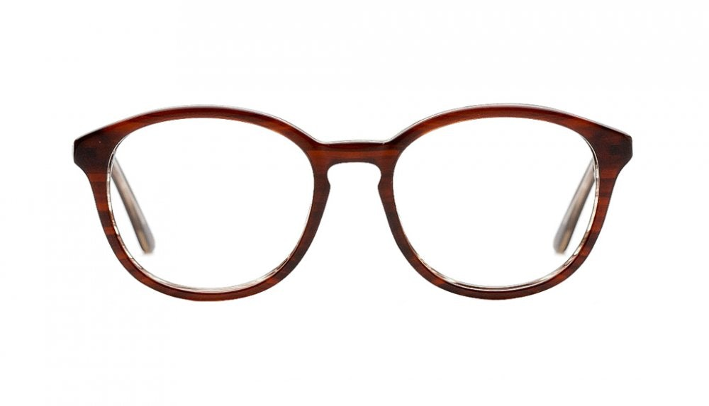 Affordable Fashion Glasses Round Eyeglasses Women Simply Fabulous Brown Front