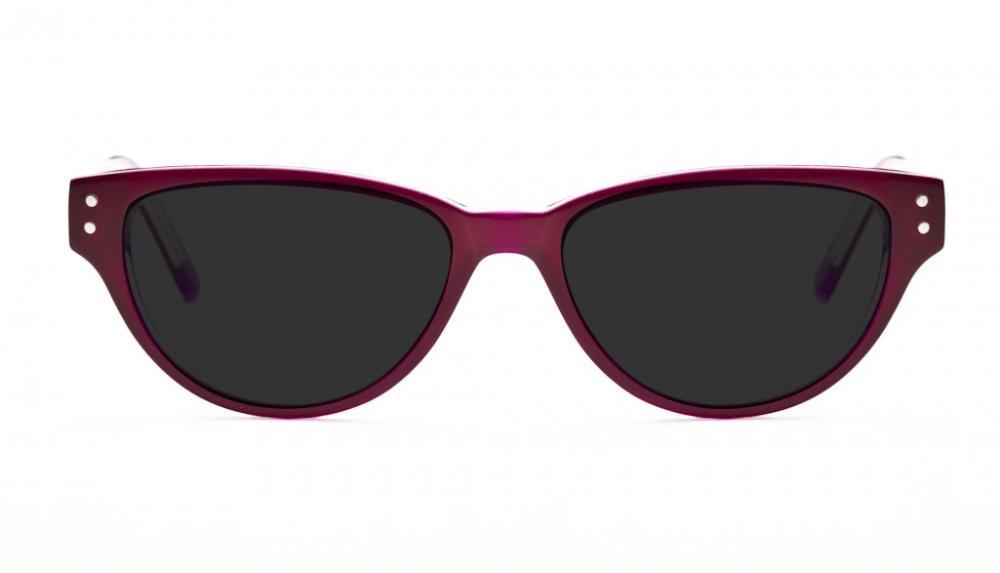Affordable Fashion Glasses Cat Eye Eyeglasses Women Coquine Purple Front