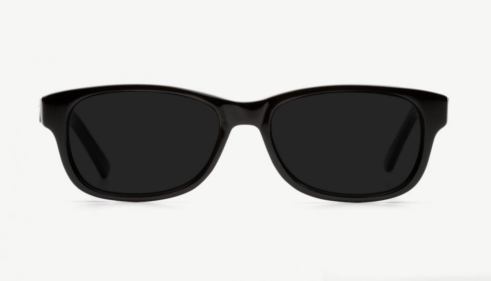 Affordable Fashion Glasses Rectangle Eyeglasses Women Charlie Black Front
