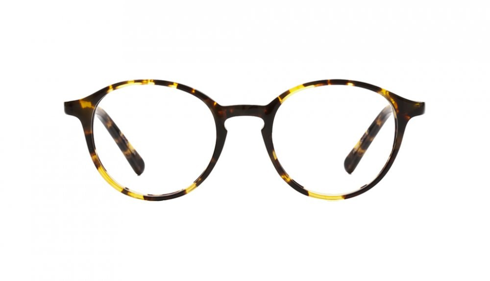 Affordable Fashion Glasses Round Eyeglasses Women J'adore Tortoise Front