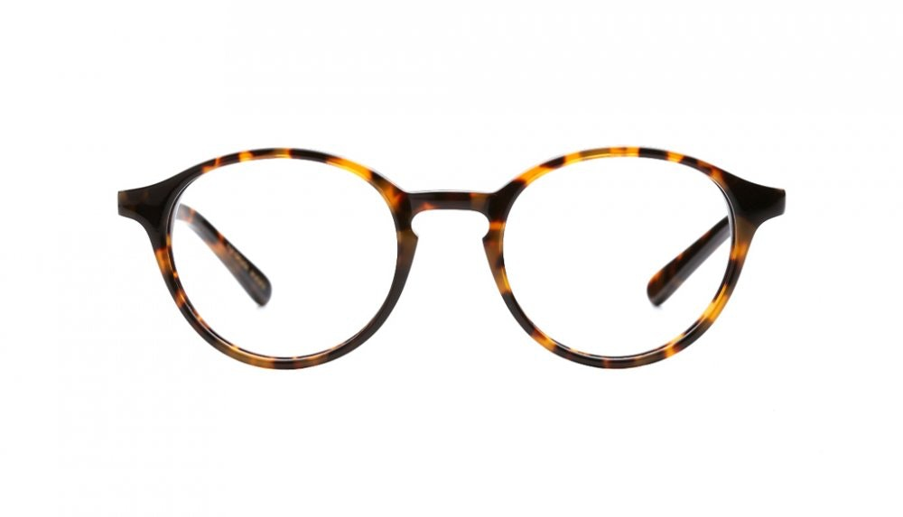 Affordable Fashion Glasses Round Eyeglasses Women J'adore Chocolate Tortoise Front
