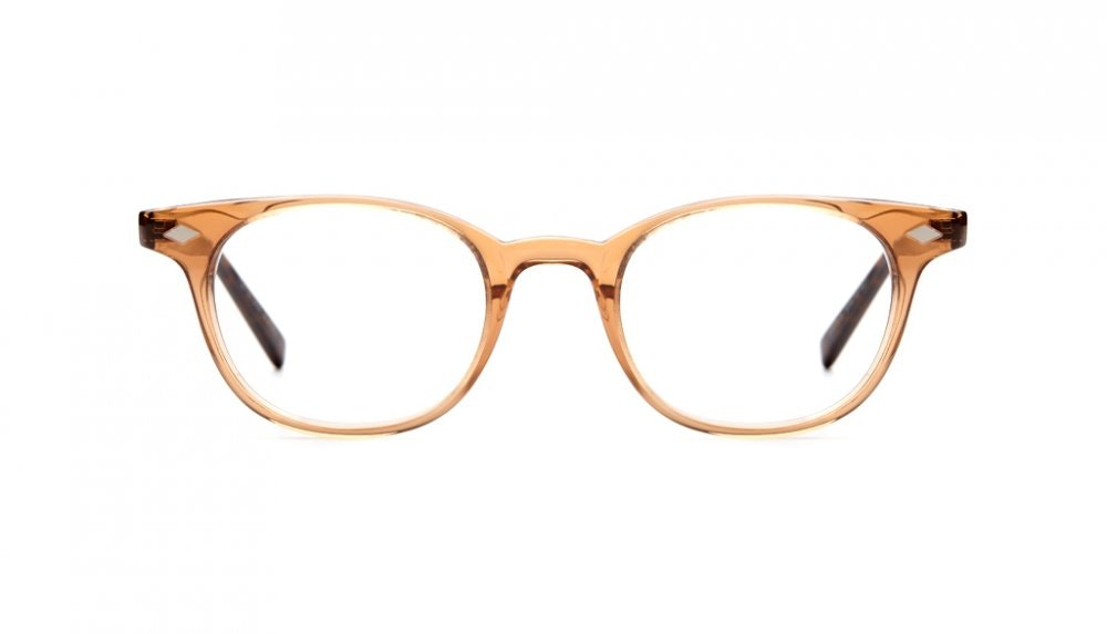 Affordable Fashion Glasses Round Eyeglasses Women Flanagan Rose gold tortoise Front