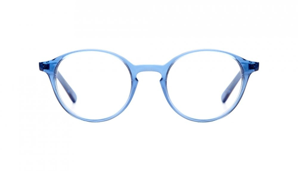 Affordable Fashion Glasses Round Eyeglasses Women J'adore Sky Front
