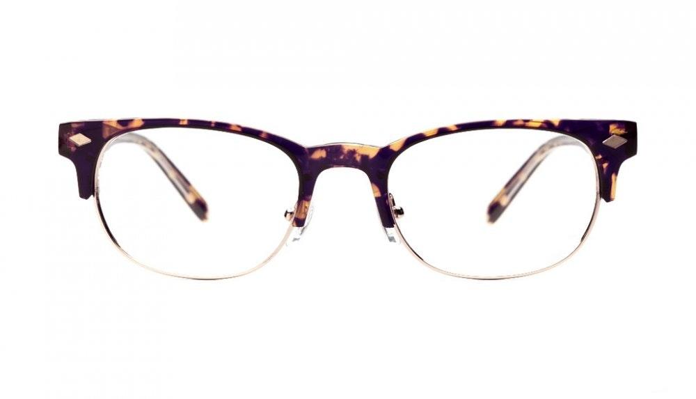 Affordable Fashion Glasses Rectangle Eyeglasses Men Whisky Chocolate Tortoise Front