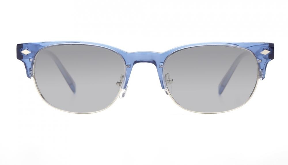 Affordable Fashion Glasses Rectangle Eyeglasses Men Whisky Sky Front
