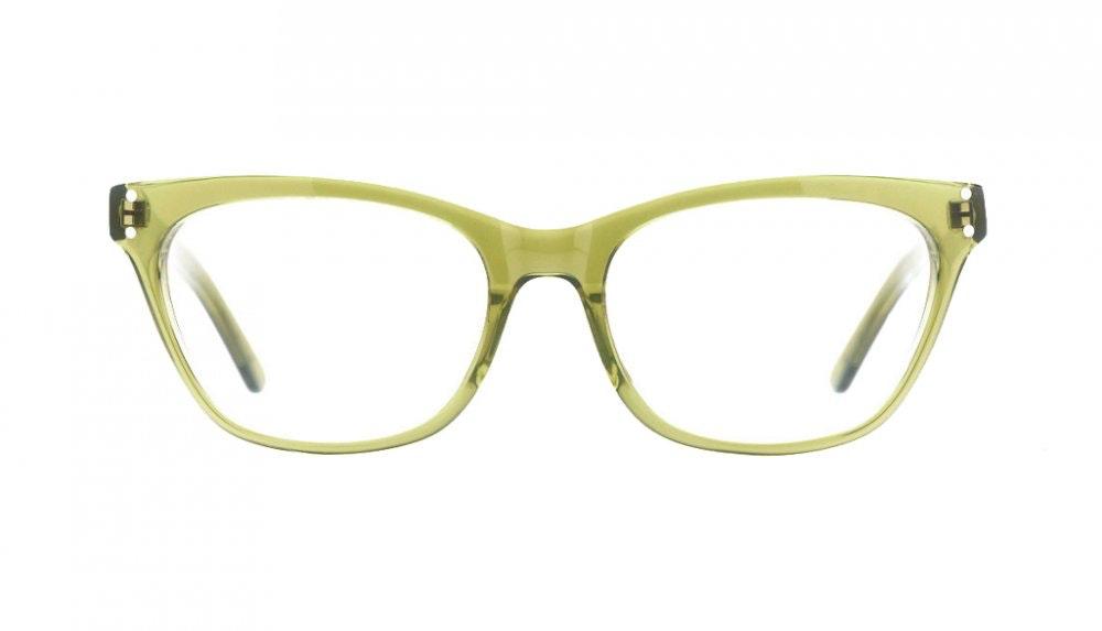 Affordable Fashion Glasses Cat Eye Eyeglasses Women Martha Olive Front