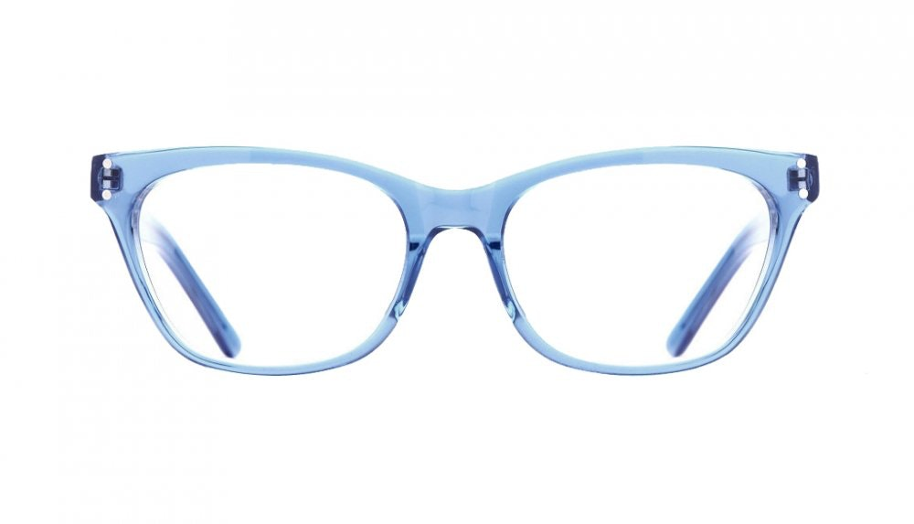 Affordable Fashion Glasses Cat Eye Eyeglasses Women Martha Sky Front