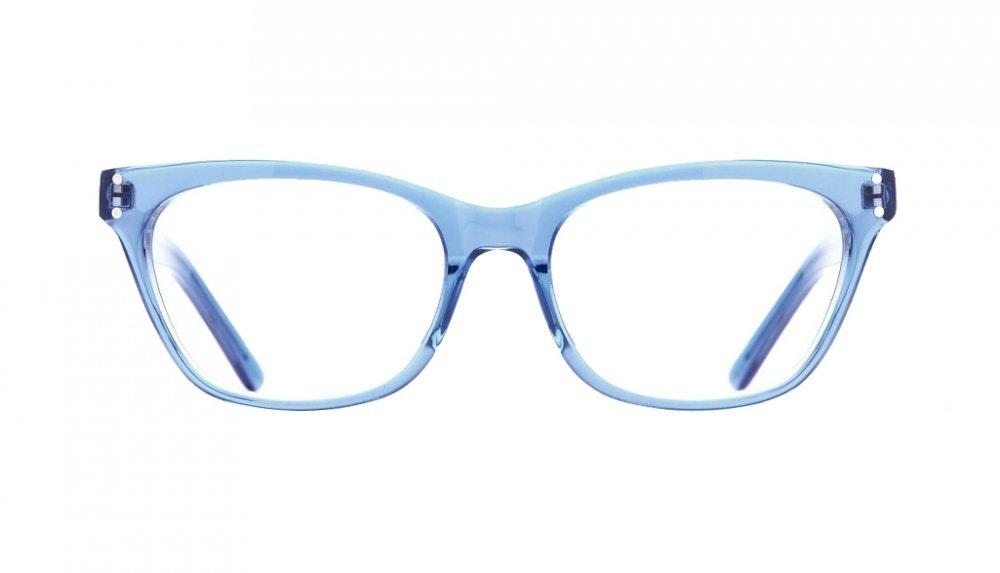 Affordable Fashion Glasses Cat Eye Eyeglasses Women Martha Sky Front