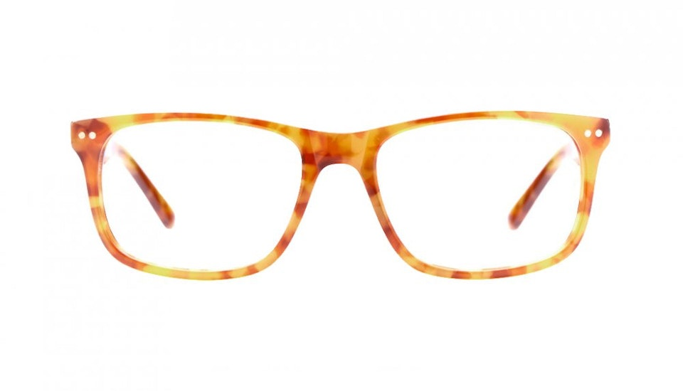 Affordable Fashion Glasses Rectangle Eyeglasses Men Women Dylan Havana Front