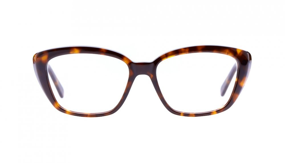 Affordable Fashion Glasses Cat Eye Eyeglasses Women Eva Sepia Kiss Front