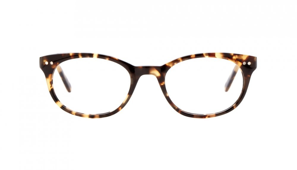 Affordable Fashion Glasses Round Eyeglasses Women Chatty Cathy Hip Tortoise Front