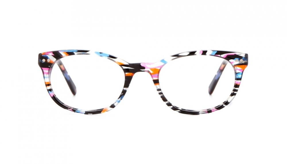 Affordable Fashion Glasses Round Eyeglasses Women Chatty Cathy Party Blue Front