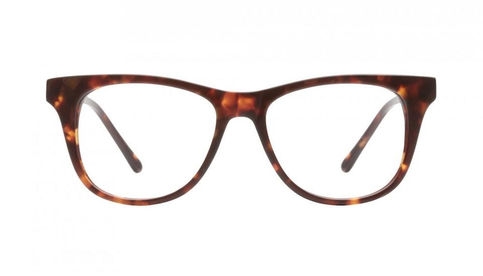 Affordable Fashion Glasses Square Eyeglasses Men Women Night Owl Sepia Kiss Front
