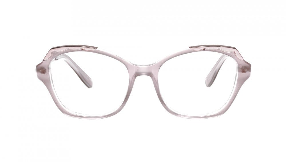 Affordable Fashion Glasses Cat Eye Eyeglasses Women Bloom Rose Front