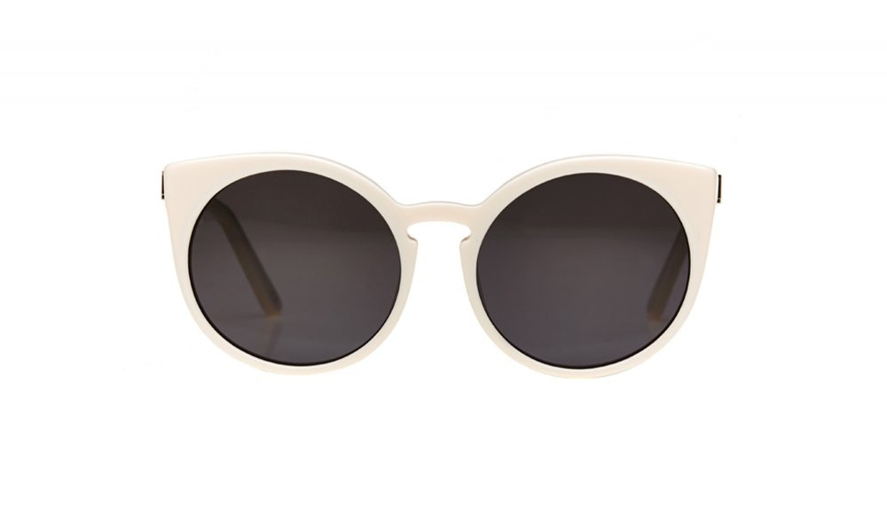Affordable Fashion Glasses Round Sunglasses Women Birdie Cloud Front
