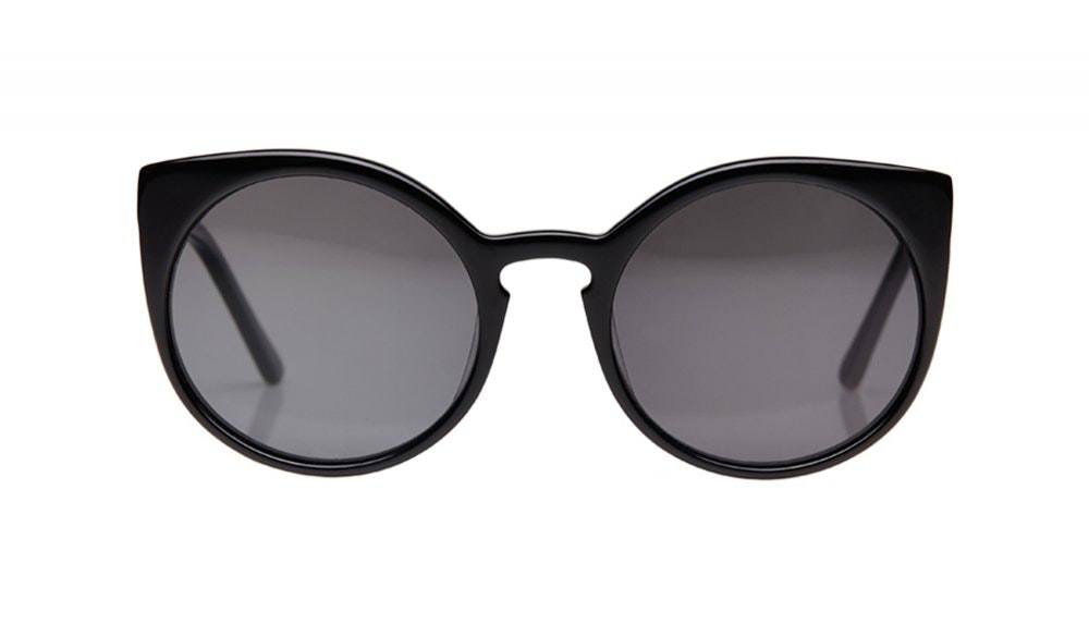 Affordable Fashion Glasses Round Sunglasses Women Franny Crow Front